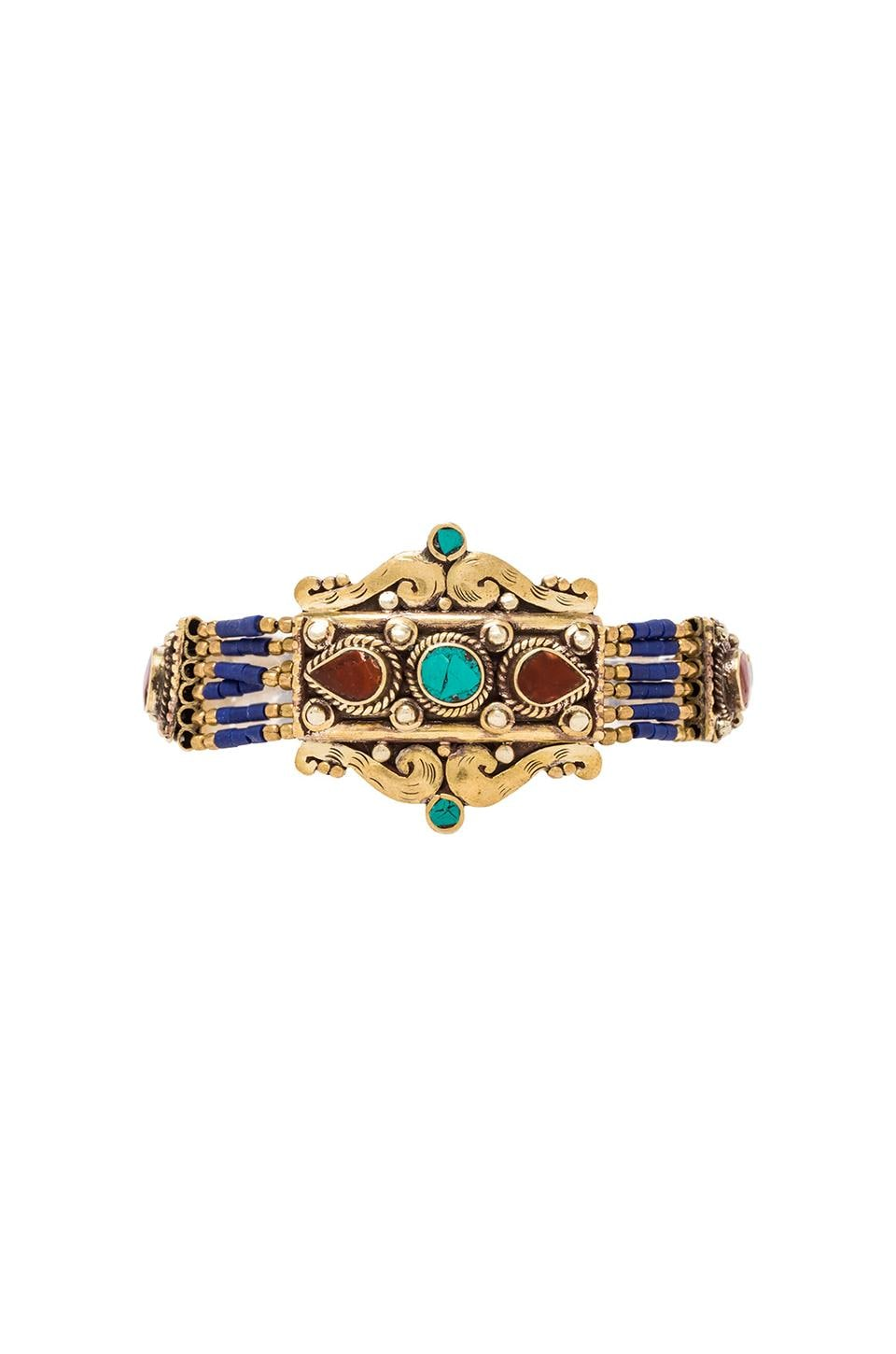Natalie B Jewelry Navajo Bracelet in Multi
