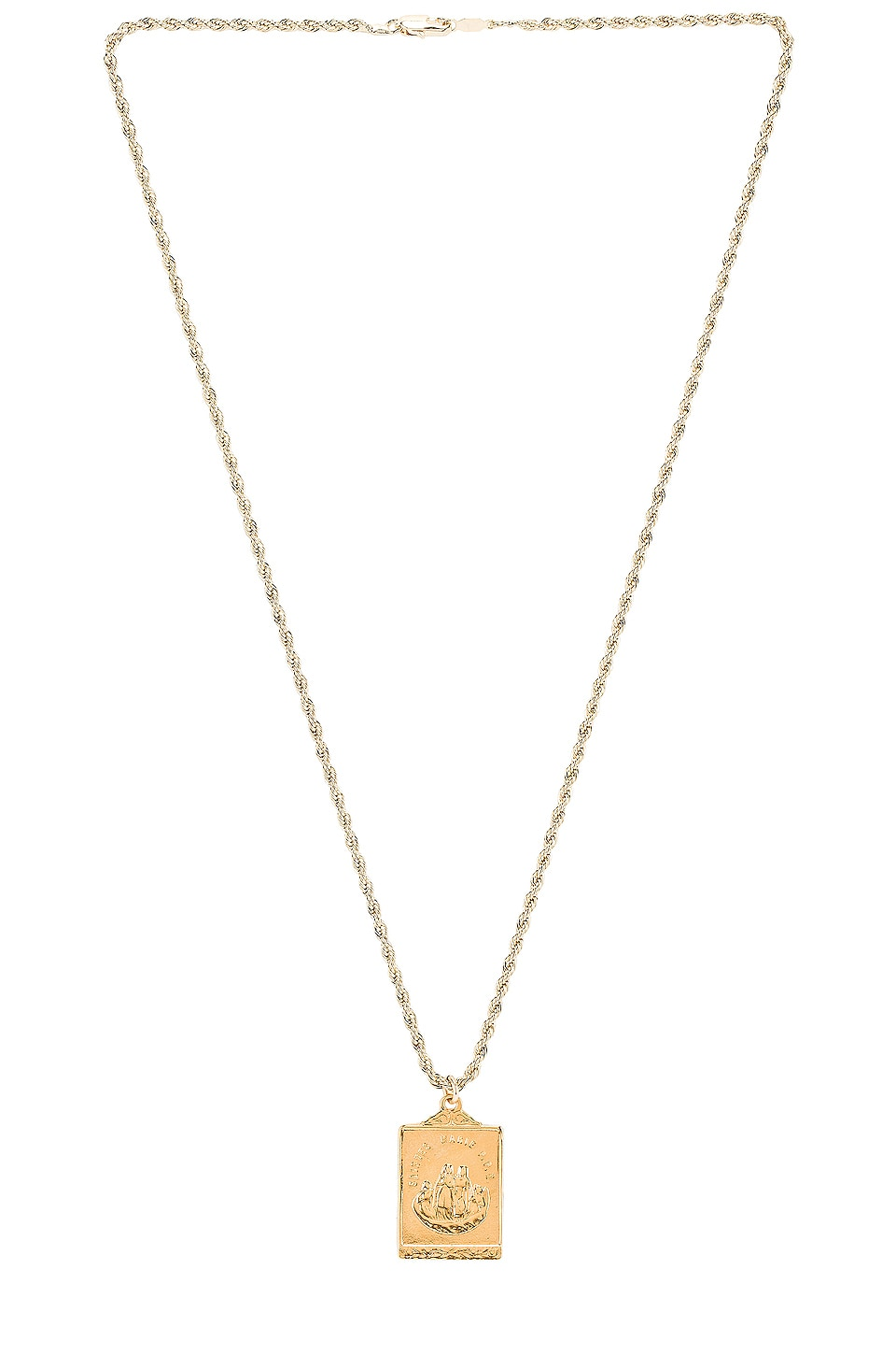 Natalie B Jewelry Saint Marie Necklace in Gold