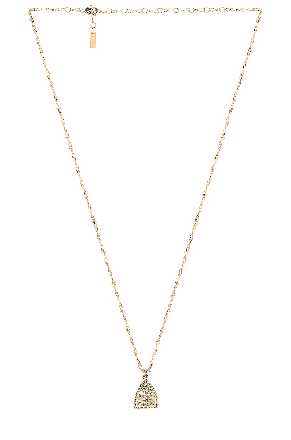 Natalie B Jewelry Madonna Reversible Necklace in Gold