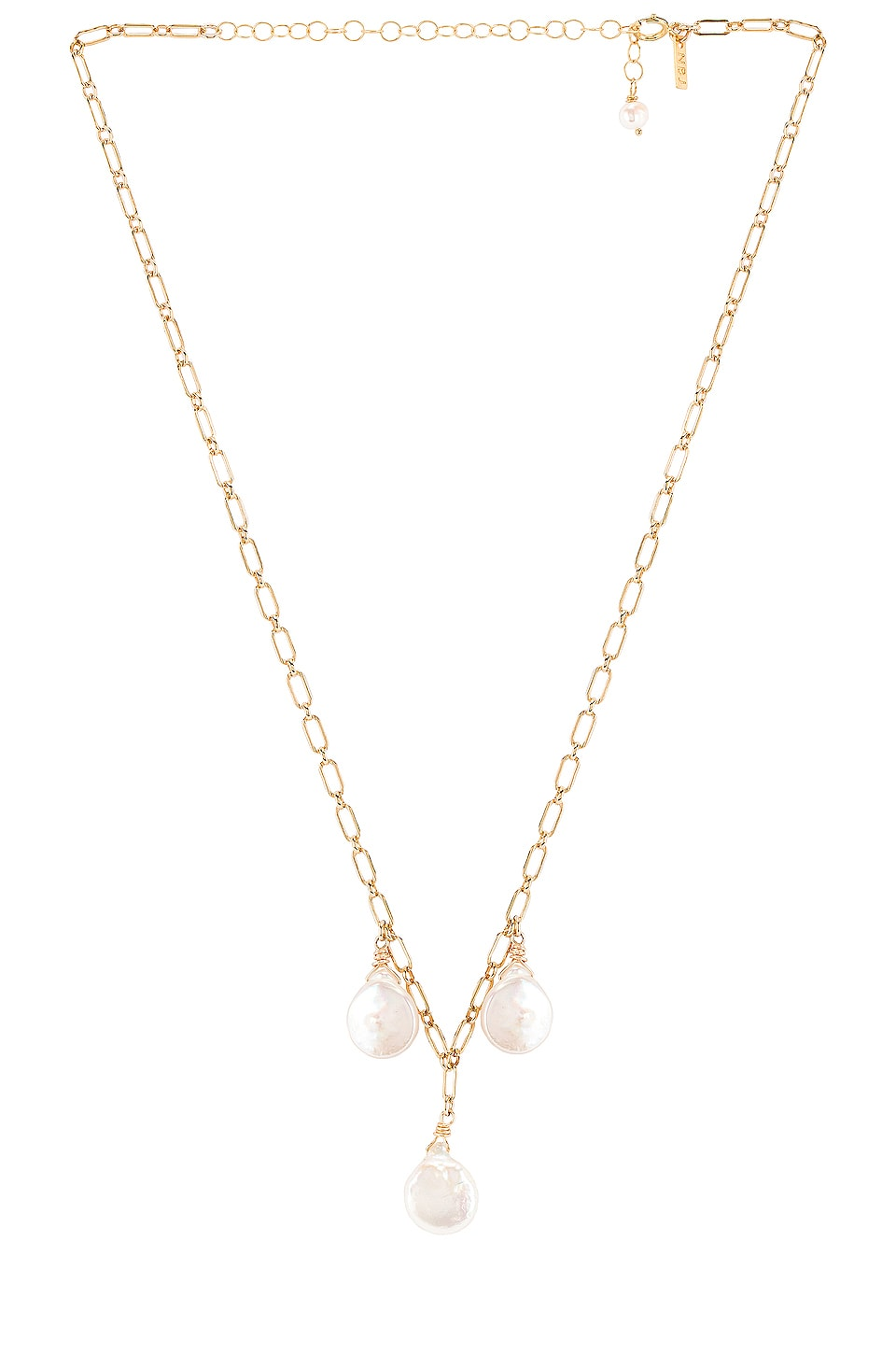Natalie B Jewelry Pearls Of Wisdom Necklace in Gold