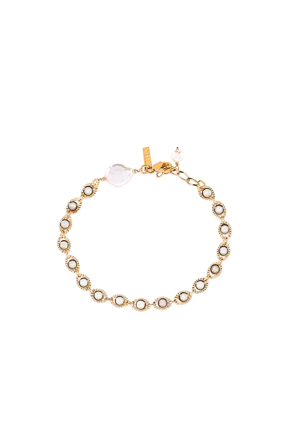 Natalie B Jewelry Dreaming Opals Bracelet in Gold