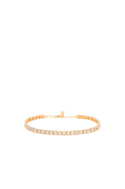 Natalie B Jewelry Le Tennis Bracelet in Gold