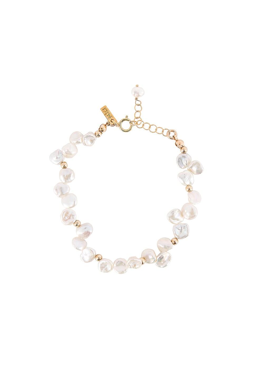 Natalie B Jewelry Le Perla Bracelet in Gold