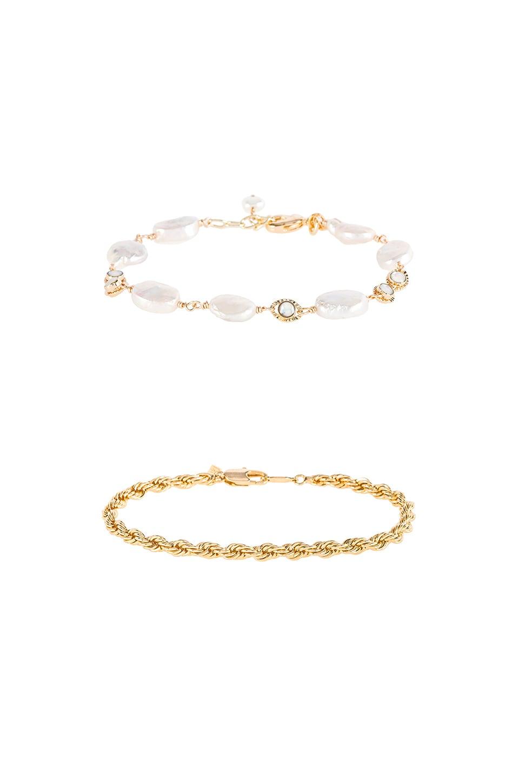 Natalie B Jewelry LOT DE BRACELETS DREAMING OPAL