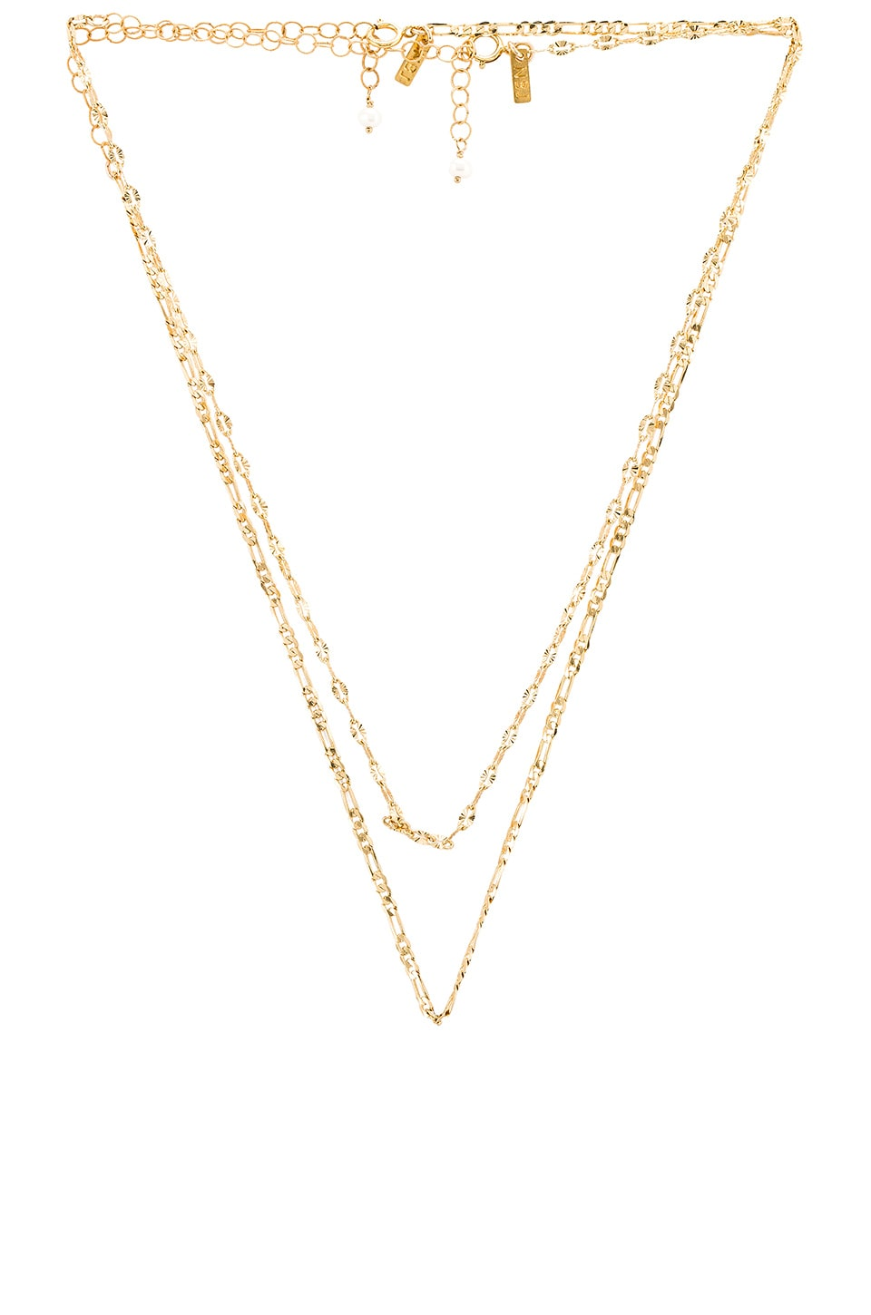 Natalie B Jewelry X REVOLVE Alexe Duo Necklace Set in Gold