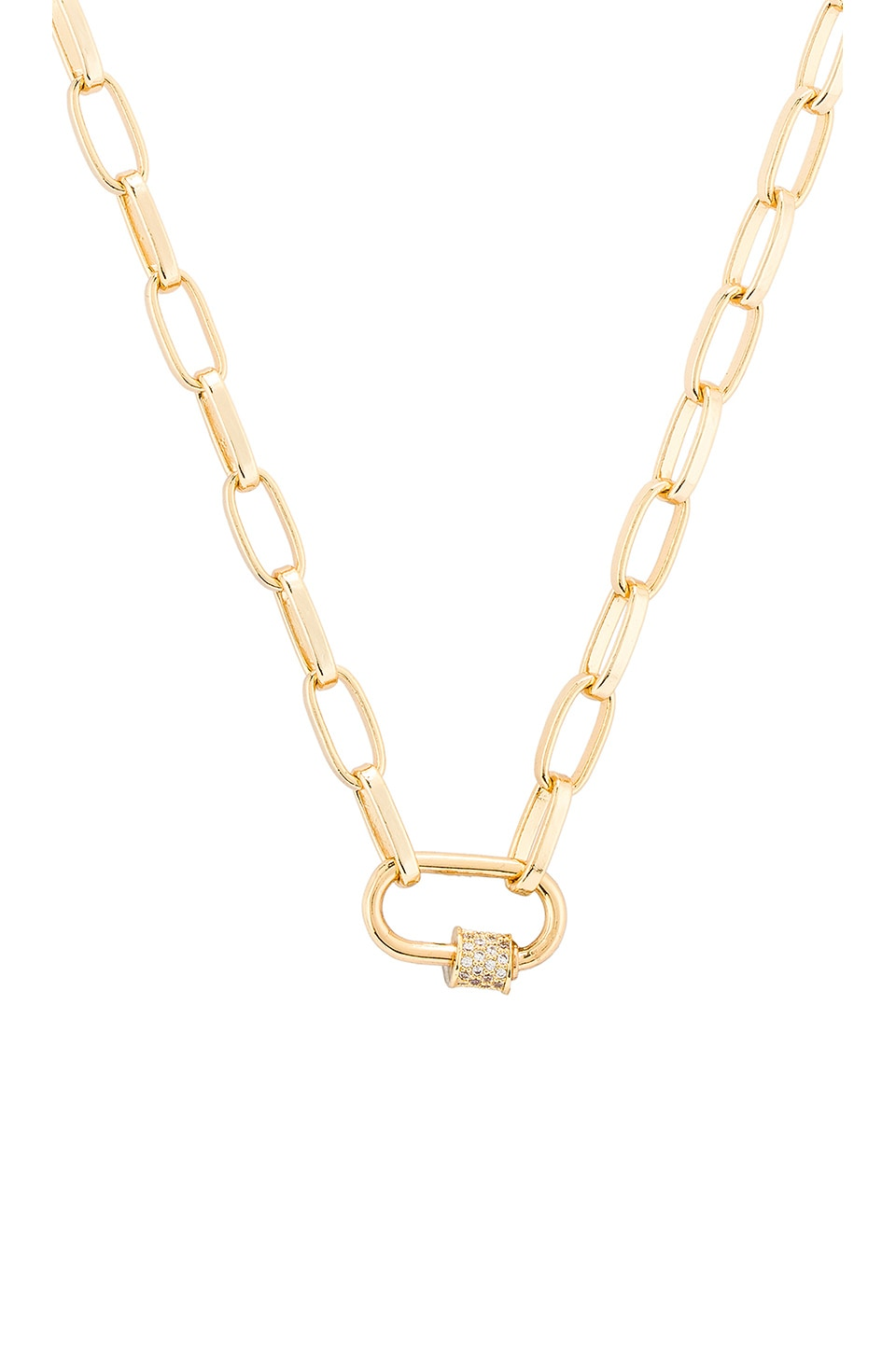 Natalie B Jewelry Naia Necklace in Gold