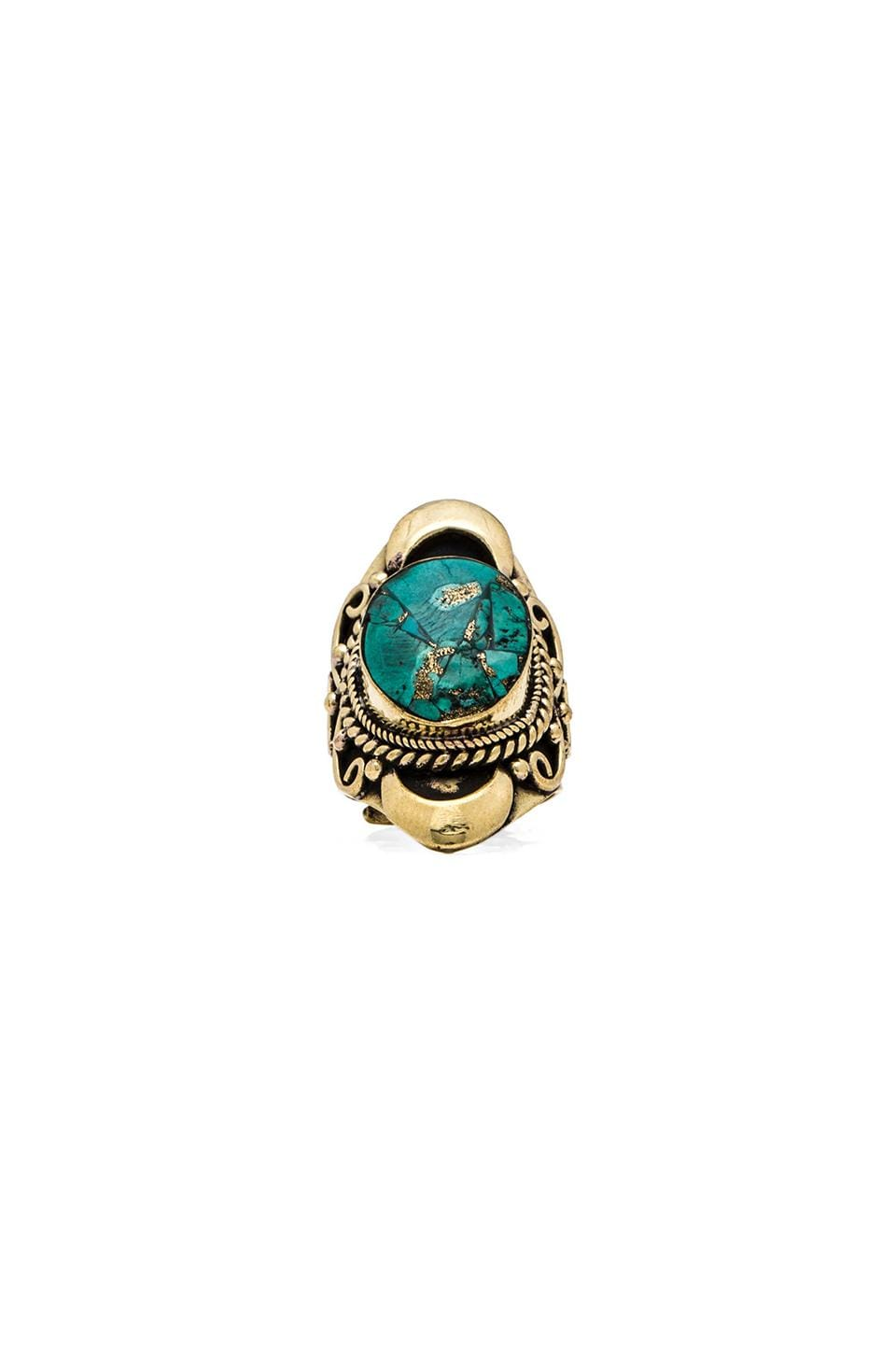 Natalie B Jewelry Kelsey Ring in Turquoise