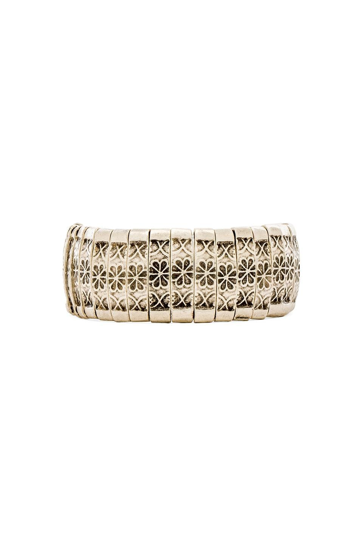 Natalie B Jewelry Lana Bracelet in Silver