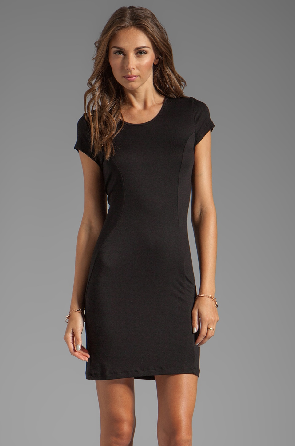 Nation LTD La Quinta Dress in Black
