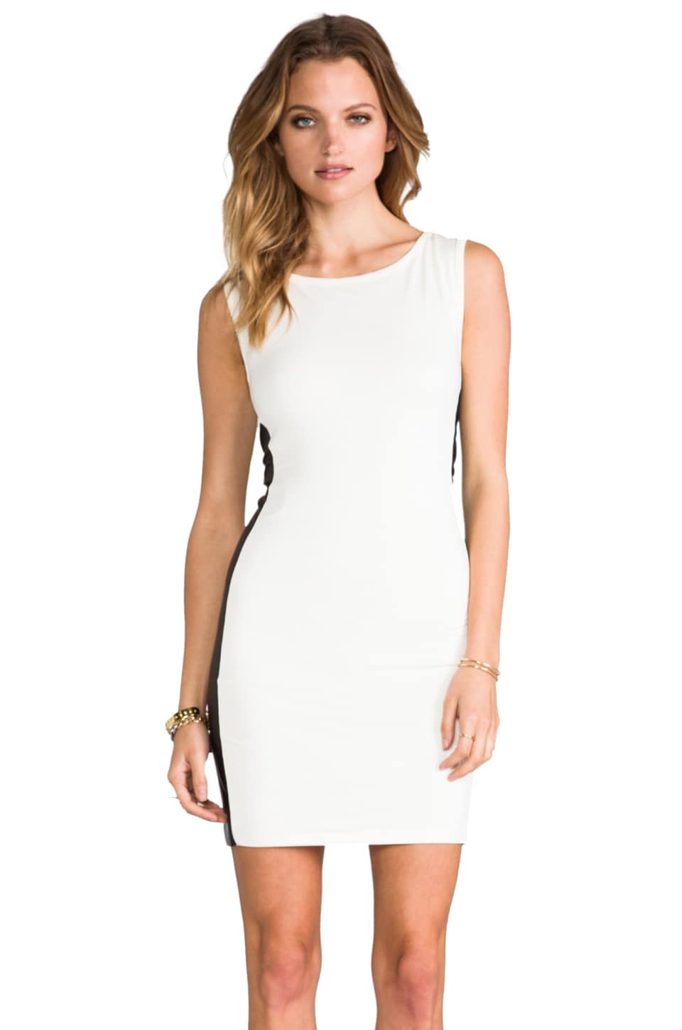 Nation LTD Oakland Park Dress in Bone