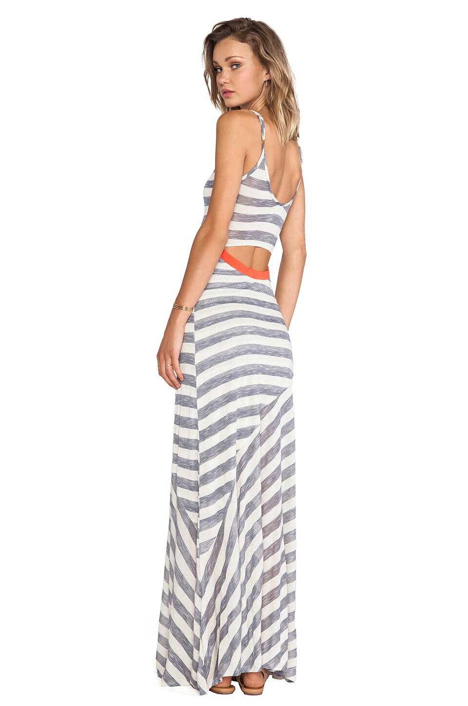 Nation LTD Annondale Dress in Oatmeal Stripe