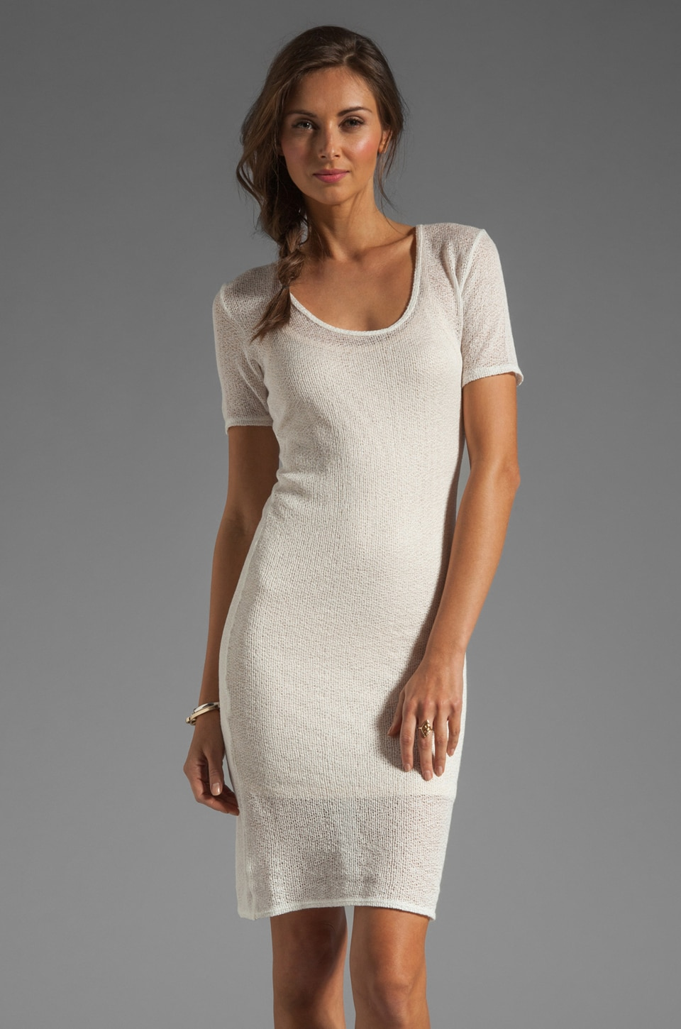 Nation LTD St. Tropez Sweater Seacliff Dress in Natural