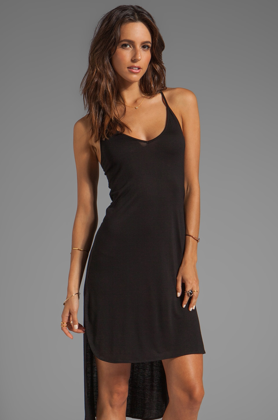 Nation LTD Edgewater Dress in Black
