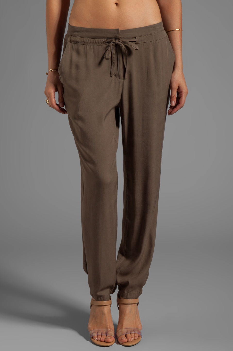 Nation LTD Paradise Cove Pant in Dusty Olive