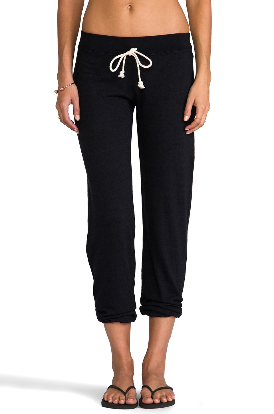 Nation LTD Palm Bay Pant in Heather Black
