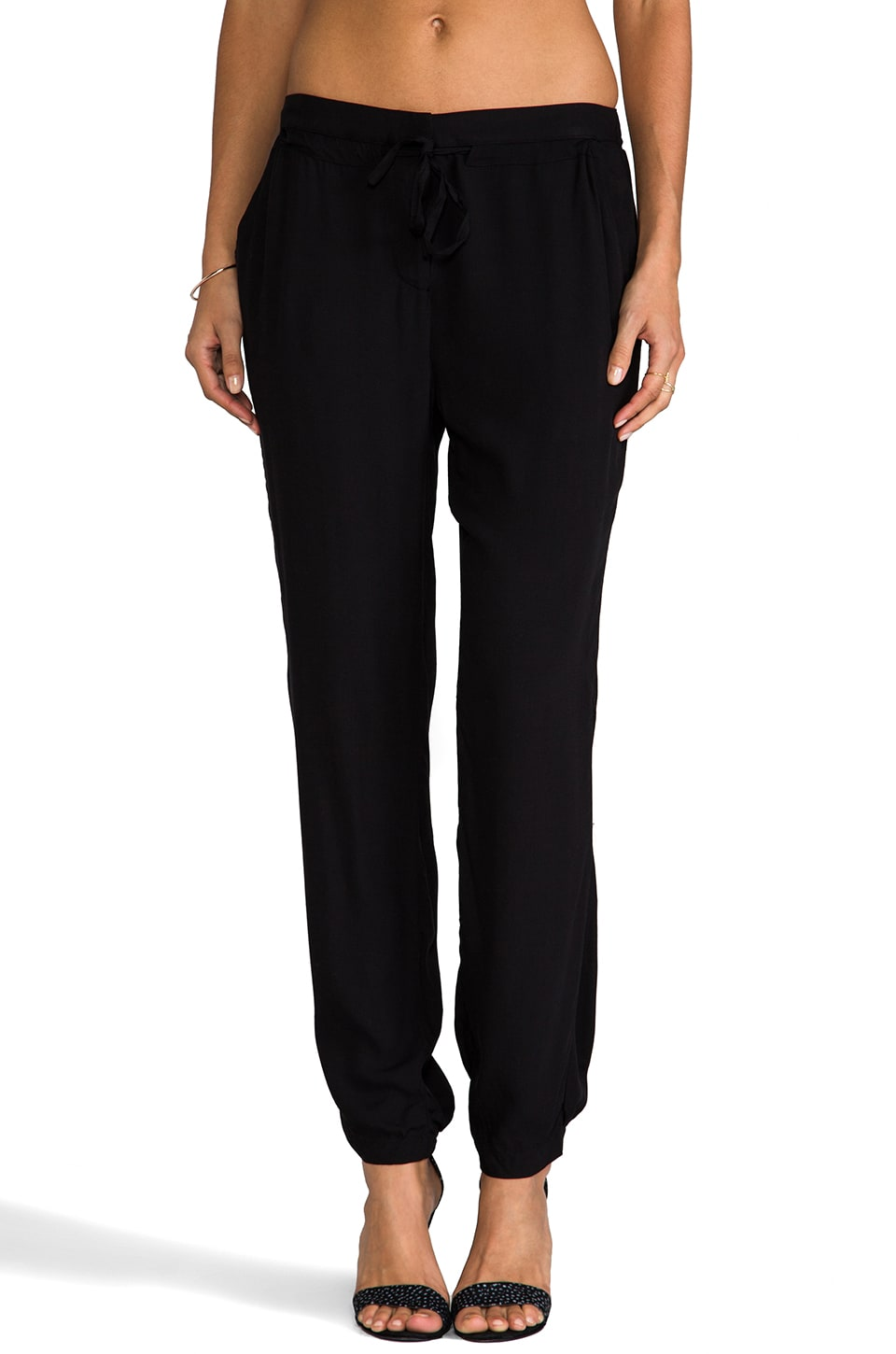 Nation LTD Paradise Cove Pant in Black