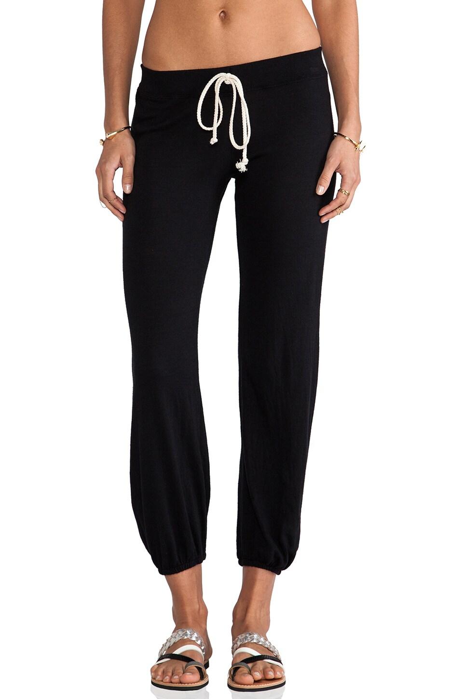 Nation LTD Medora Capri Sweatpants in Black
