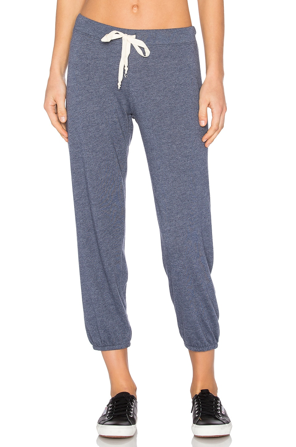 Nation LTD Medora Capri Sweatpant in Deep Blue