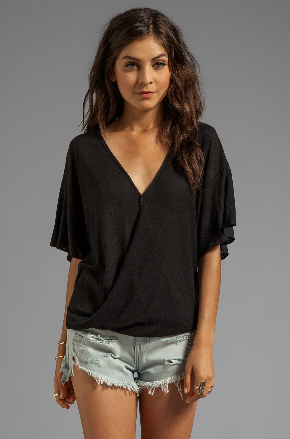 Nation LTD Solvang Top in Black