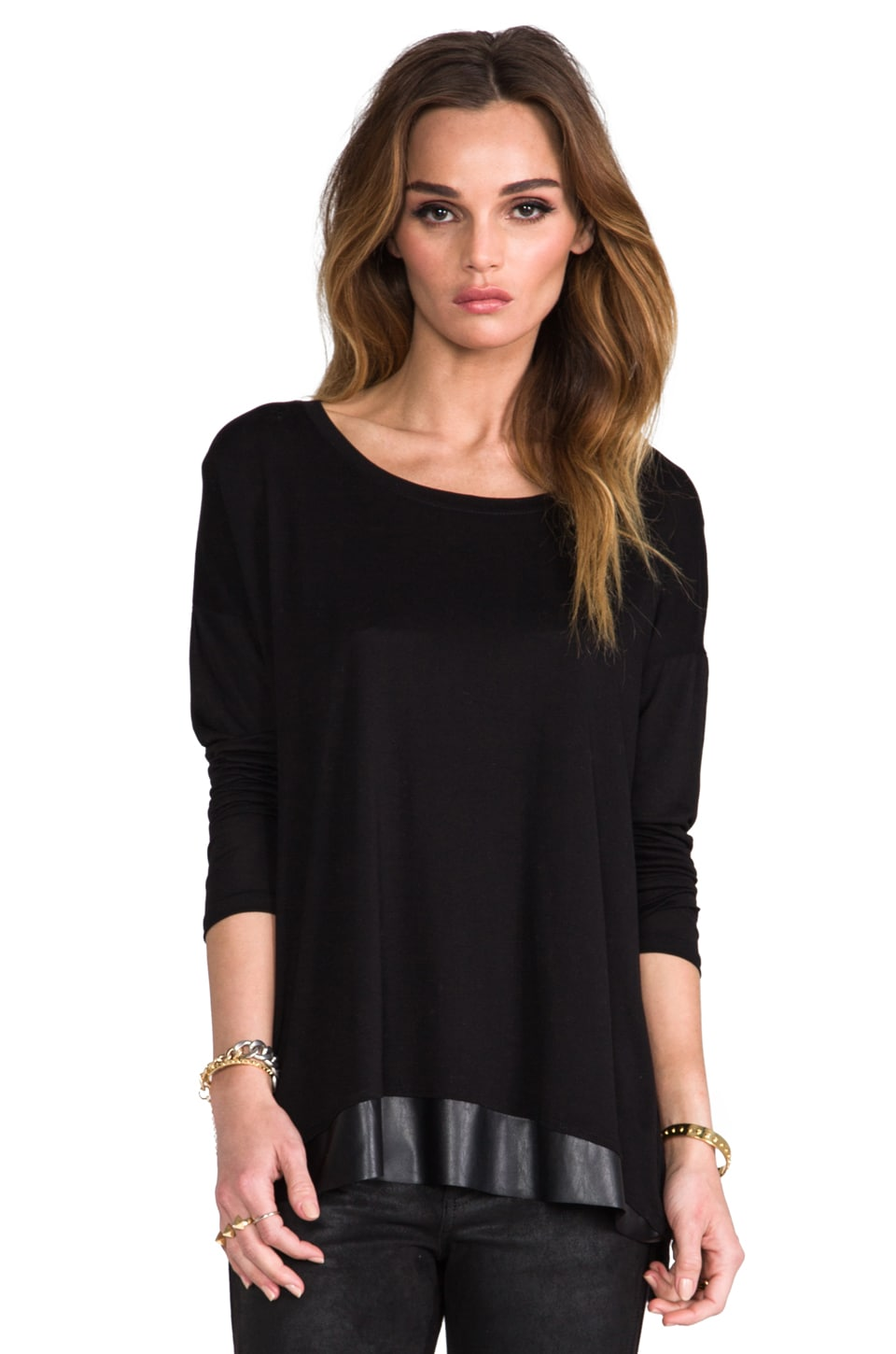 Nation LTD Fairfax Top in Black