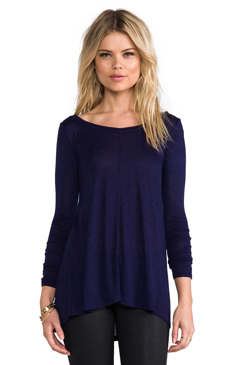 Nation LTD Gennessee Top in Navy
