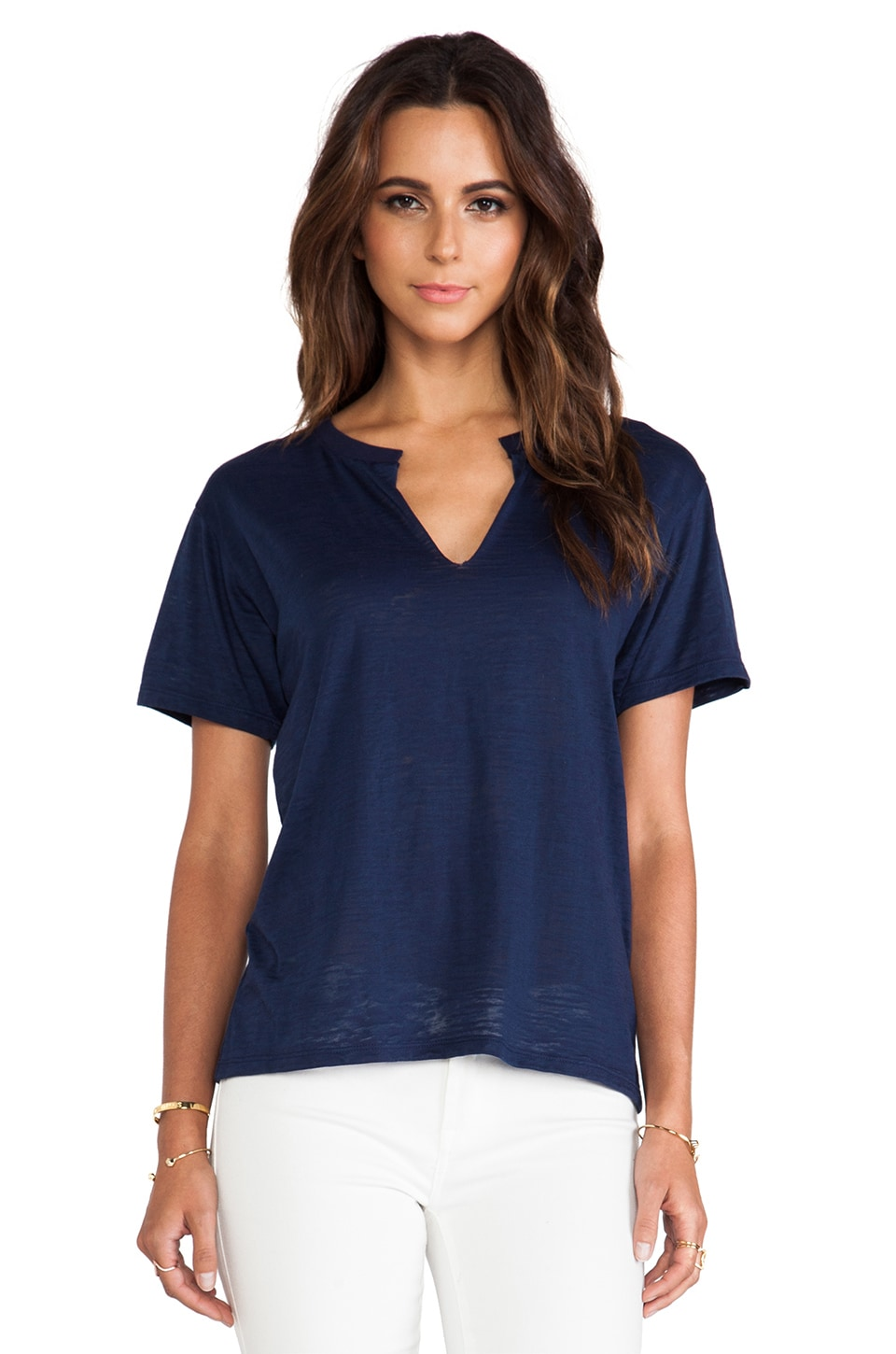 Nation LTD Burnout Karen Tee in Nation Navy