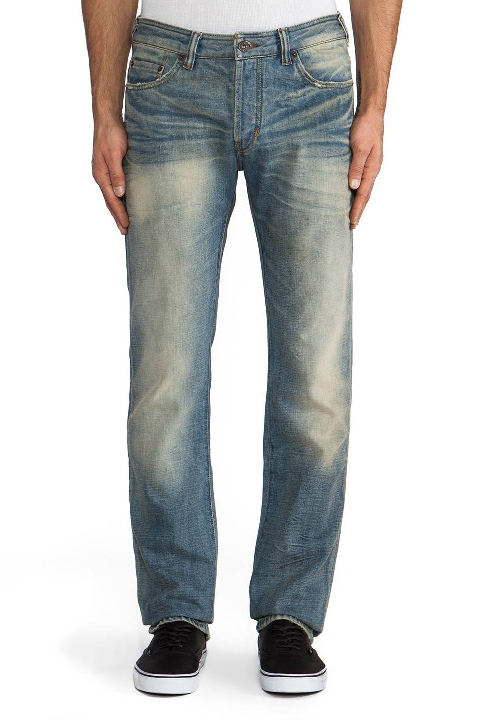 Natural Selection Denim Smith Straight in Gamma