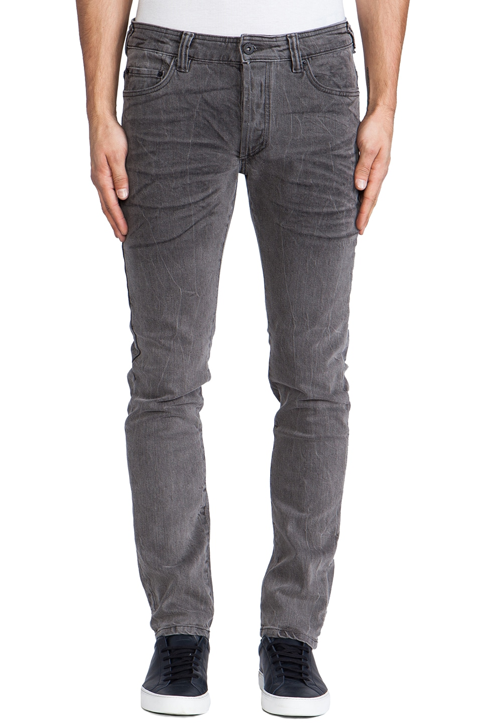 Natural Selection Denim Taper in Grey