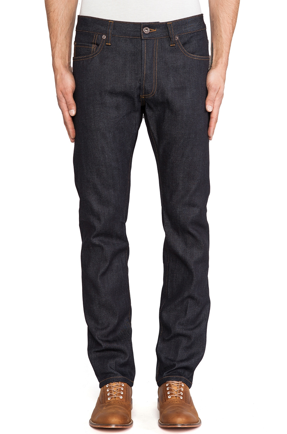 Natural Selection Denim Narrow in C-Raw
