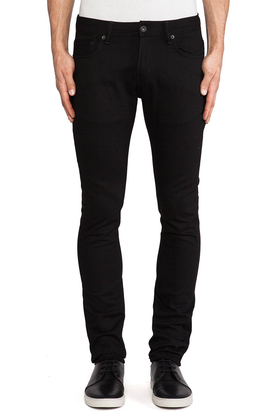 Natural Selection Denim Skinny in Black