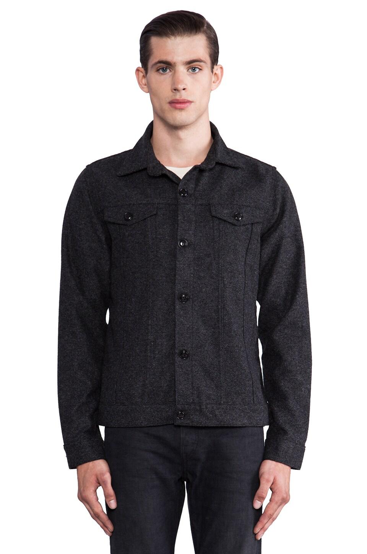 Natural Selection Denim Chapmap Jacket in Grey Tweed