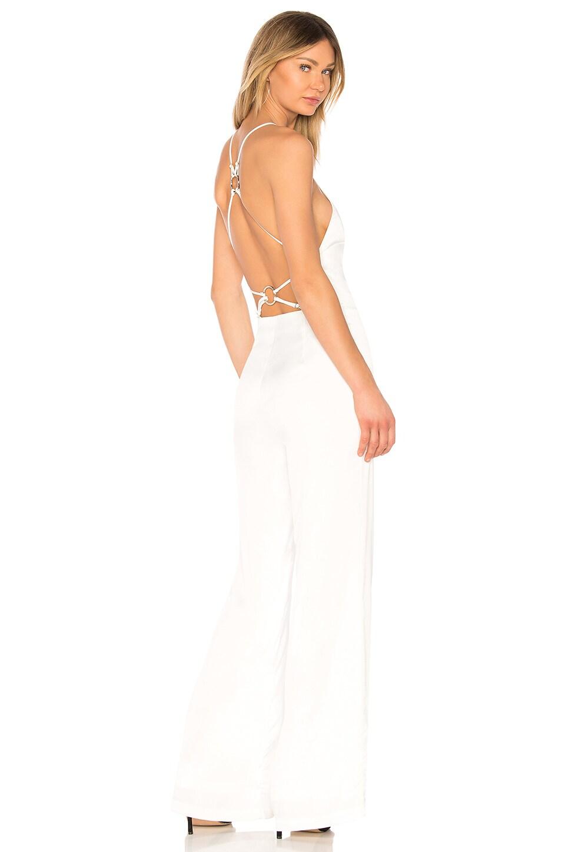 NBD Goddess Jumpsuit in Ivory