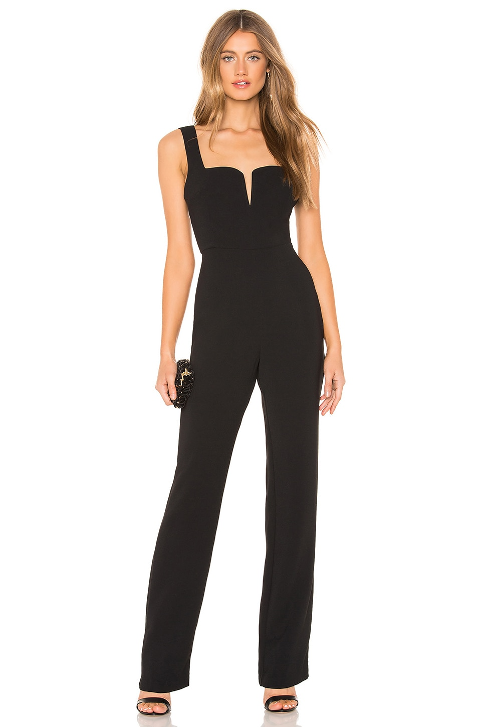 NBD Forget Me Not Jumpsuit in Black