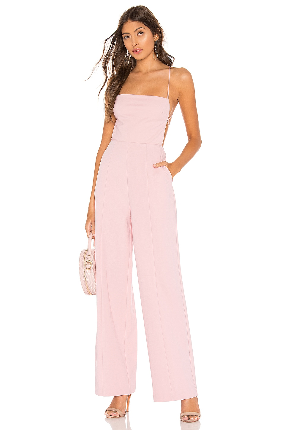 NBD Prosecco Jumpsuit in Pink