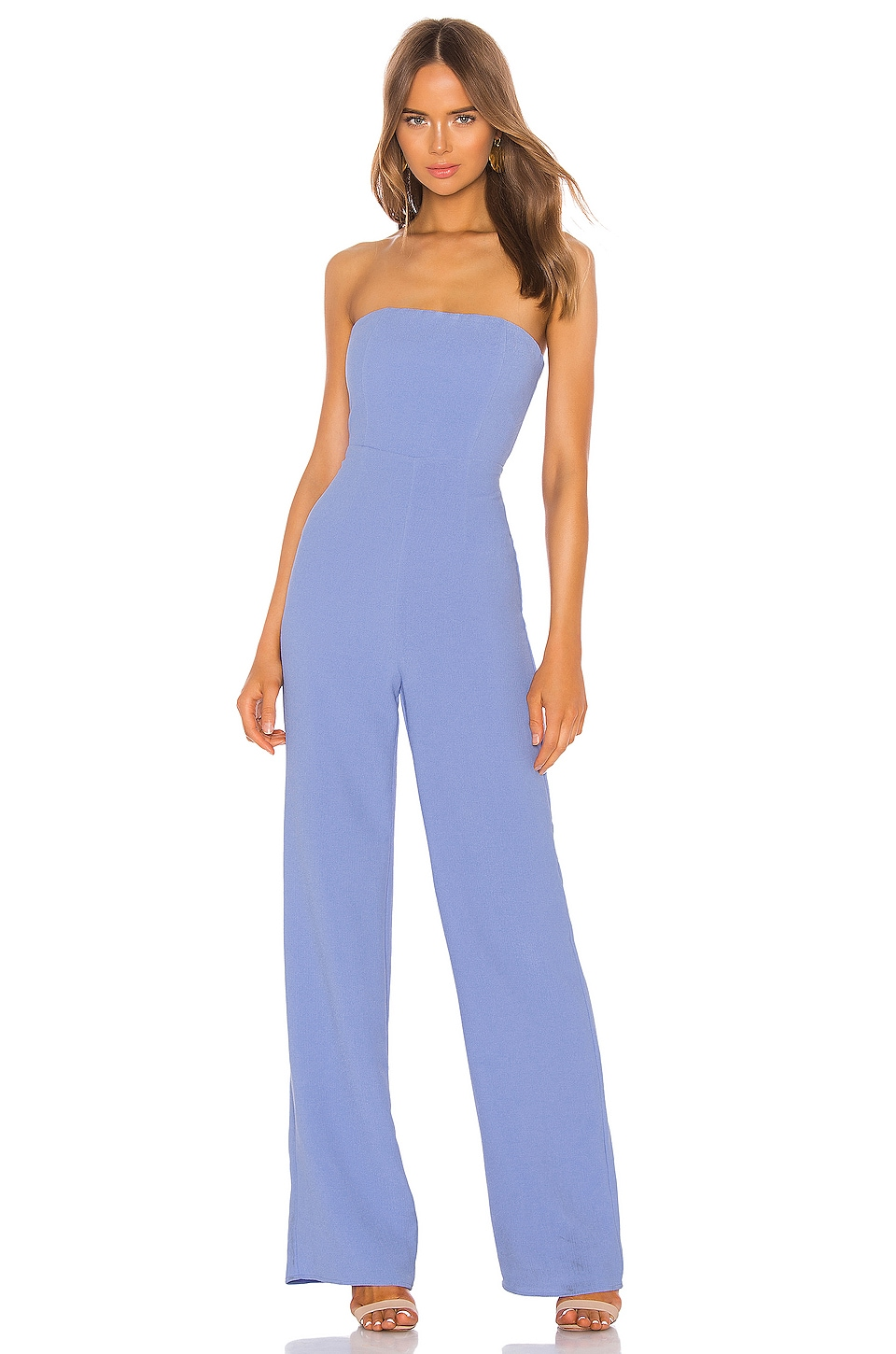 NBD Ivy Jumpsuit in Periwinkle Blue