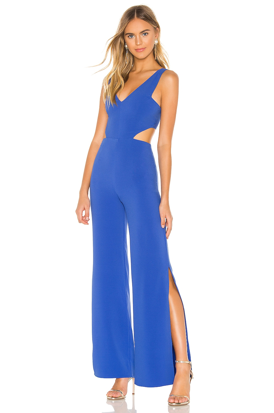 NBD x Naven Tiffany Jumpsuit in Royal Blue