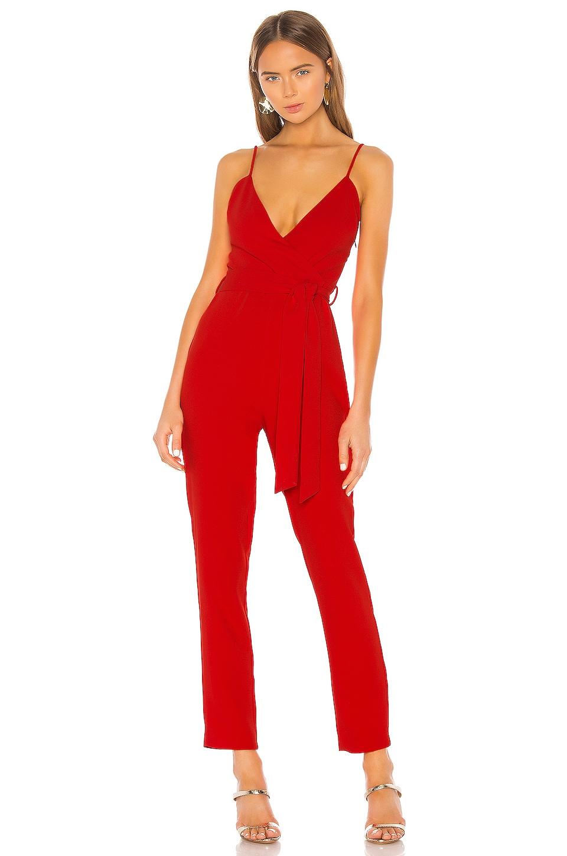 NBD Kelli Jumpsuit in Red