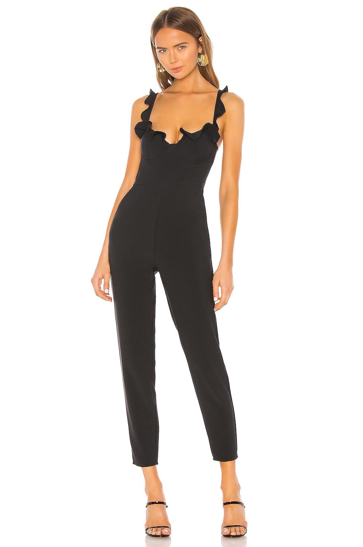 NBD x Naven Serena Jumpsuit in Black