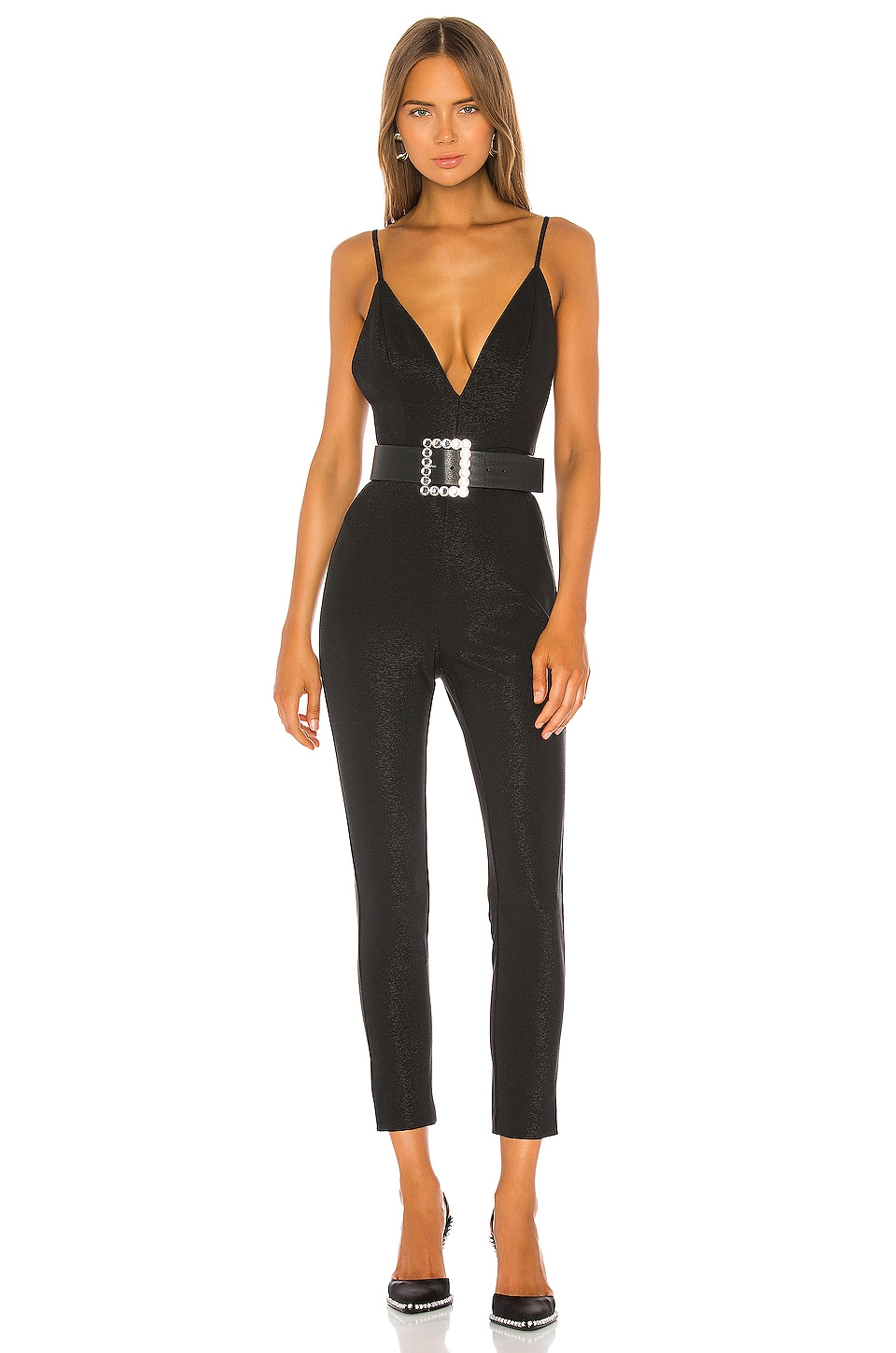NBD Hilo Jumpsuit in Black