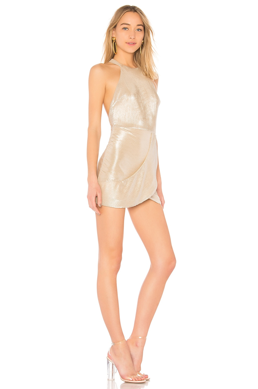 NBD Lulu Dress in Silver