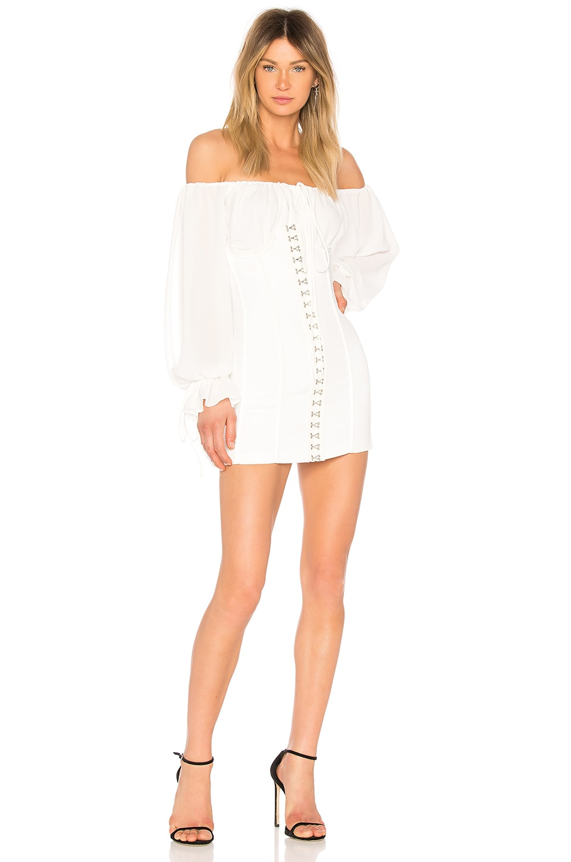 Lindsay Dress in White. - size L (also in M,S,XL,XS,XXS) Tularosa