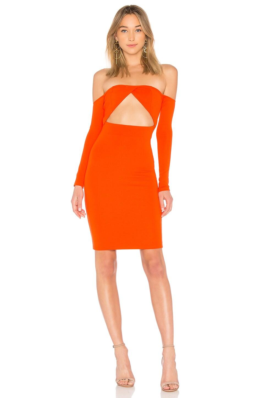 NBD Hot Mami Dress in Persimmon