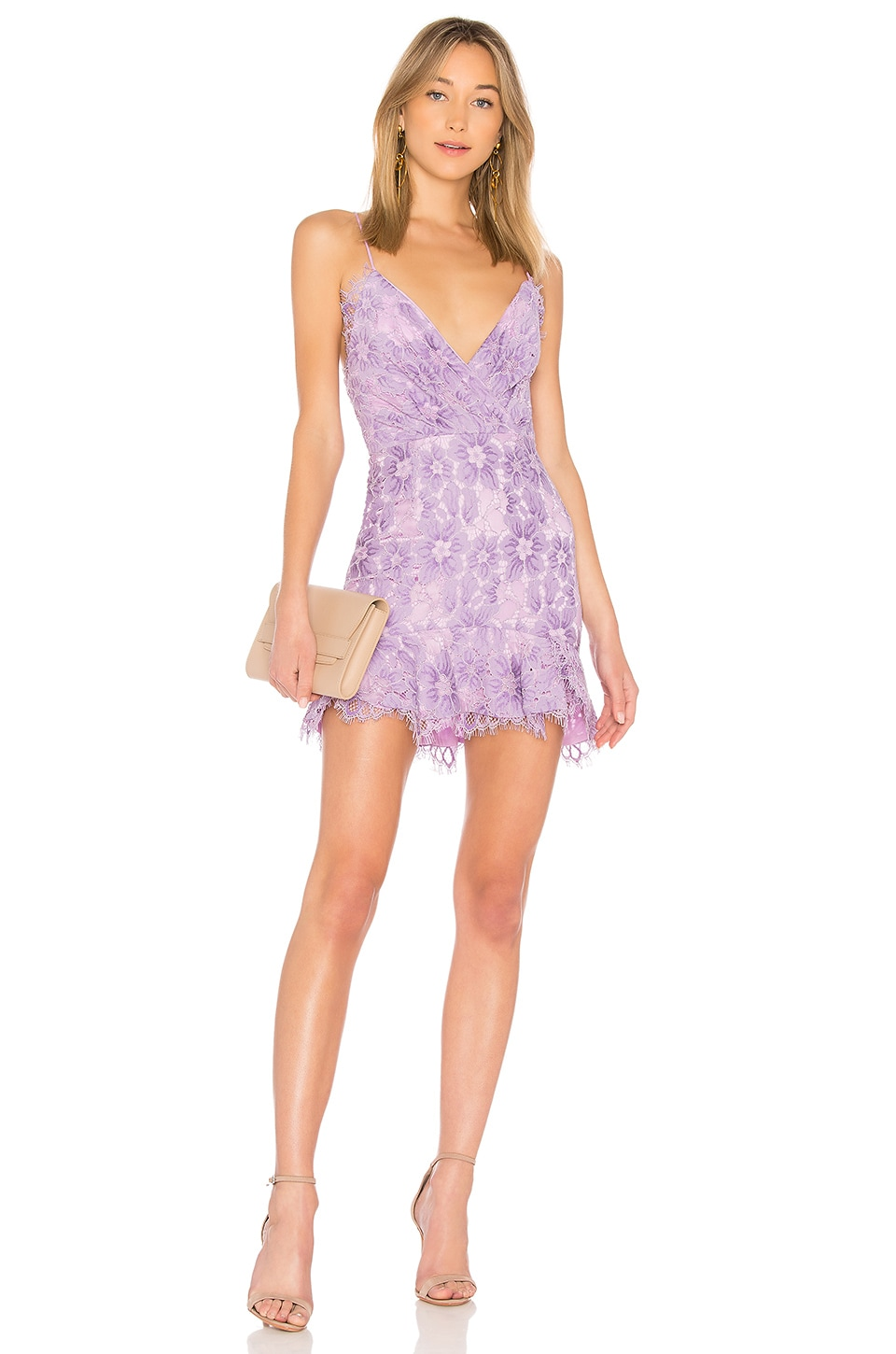 NBD Marilyn Dress in Lilac