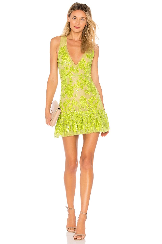 NBD Sweet Dreams Dress in Green Goblin