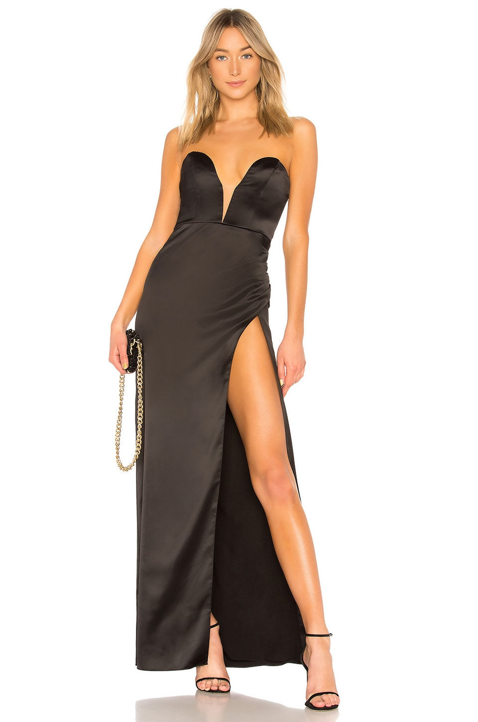 NBD Laurel Canyon Gown in Black