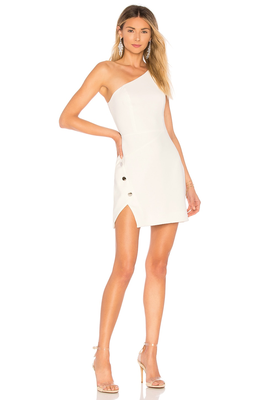 NBD Aldon Mini Dress in Ivory