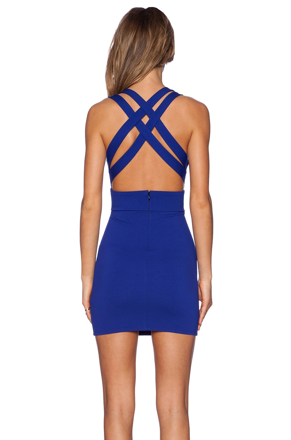 NBD x REVOLVE Late Night Bodycon Dress in Royal Blue