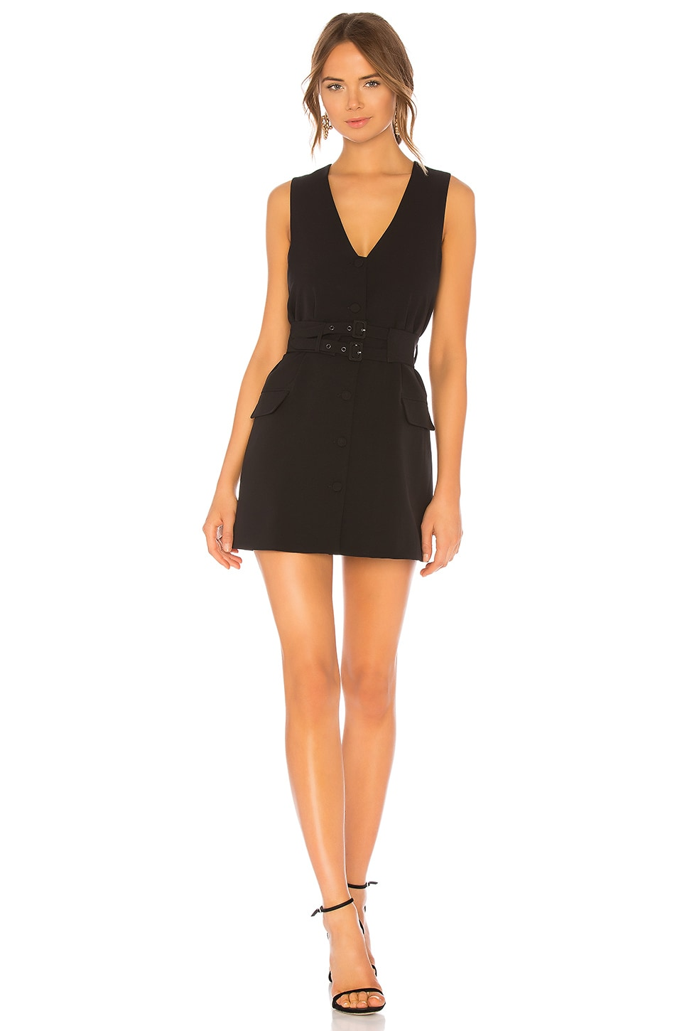 NBD Seth Mini Dress in Black