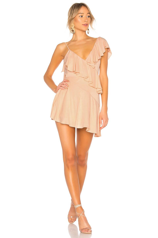 Twain Ruffle Mini Dress