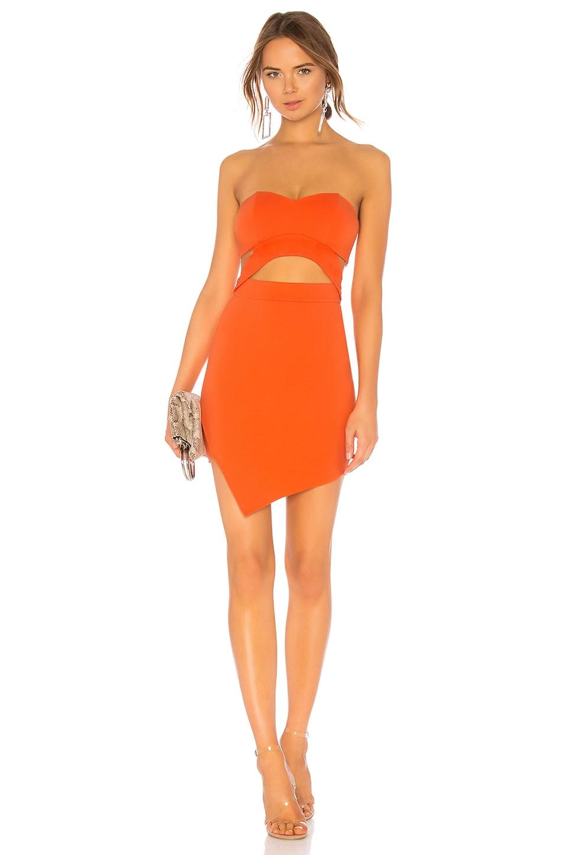 NBD x NAVEN Liz Dress in Neon Nectarine